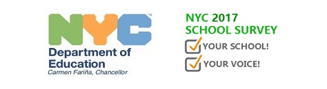 Image result for NYC doe school survey 2017